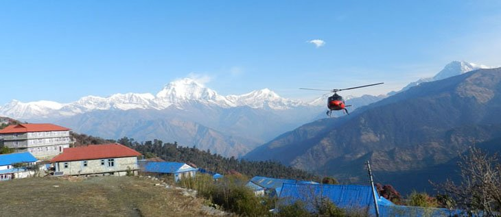 Ghorepani Poon hil Helicopter Tour