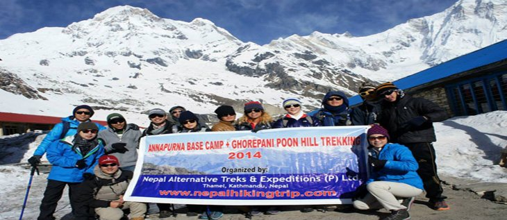Annapurna Base Camp alternative Trek