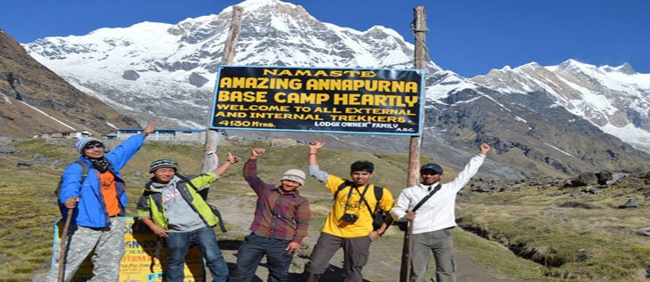 Annapurna Circuit and ABC Trekking