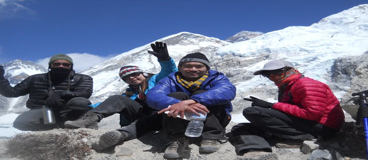 Lobuje Peak Climbing  with Everest Base camp hike