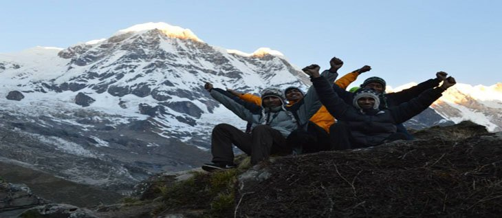 Annapurna base camp trekking alternative route